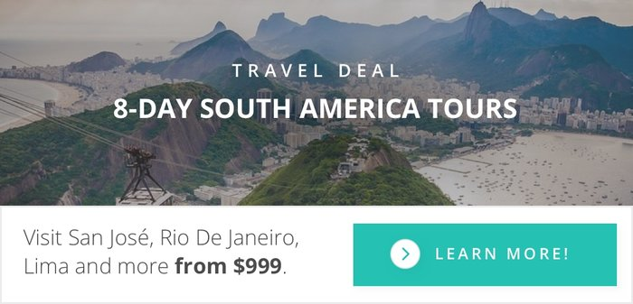 8-Day South American Tours starting from $999